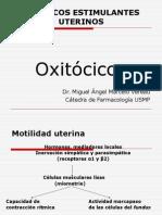 Farmacologia - Oxitócicos