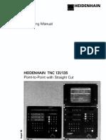 Heidenhain TNC 131_135 Manual
