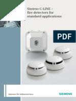 Siemens Sinteso C-LINE Detectors