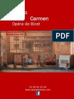 Carnet d Opera Carmen