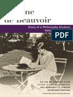 Simone de Beauvoir, Diary of a Philosophy Student v.1, 1926-27