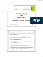 Módulo 1 - Lgt - Pós-graduação Fiscalidade - Porto - 2 Slides