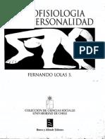 Psicofisiología de La Personalidad - Fernando Lolas