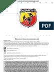 Abarth 500 - 02 2010 - Manual Del Usuario ESP