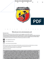 Abarth 500 - 02 2010 - Manual Del Usuario ESP