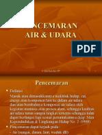 Pencemaran Air Udara