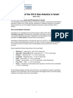 Israel Oil and Gas Overview