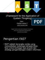 Framework for the Application of System Thingking