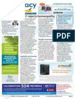 Pharmacy Daily for Tue 22 Sep 2015 - APLF rejects homeopathy, Blackmores runs the course, Industry hails ministry, Guild Update and much more