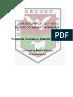Plan de Desarrollo Municipal 2012 2015 Cabrera Final 31 de Mayo 2012