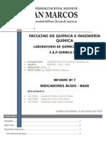 Informe 07 Quimica General AII