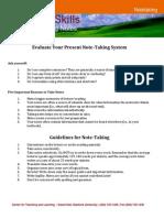 Notetaking tips