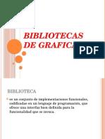 Bibliotecas de Graficas