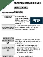 Características de Lostextos Instrucionales (Papelografo)