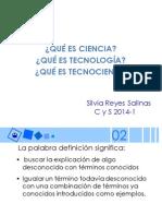 -Que Es Ciencia Tecnologia y Tecnociencia