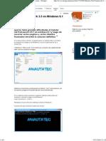 Instalar Net Framework 3.5 en Windows 8.1 (Funciona) - Taringa!