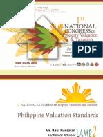 Philippine Valuation Standards - RT Punzalan