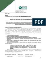 Artigo Apoio Aulas 1, 2 e 3 Principios Mercadologicos