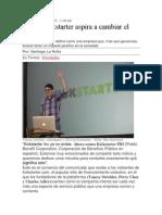 Cómo Kickstarter Aspira a Cambiar El Mundo