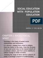Sociological Science With Population Education (1) [Repaired]