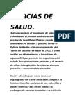 Noticias de Salud ☺