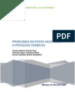 Problemas en Pozo asociados a Procesos Térmicos