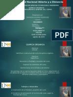 Reconocimiento General de Curso química organica