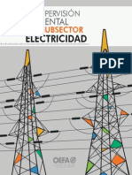 Supervision Ambiental Sub Sector de Electricidad
