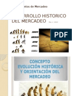 Desarrollo Historico Del Mercadeo Power Point
