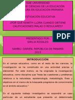 Investigación Educativa (Maestra Sirilia Rosales)