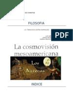 cosmovisión azteca