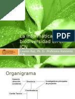 La Informatica de La Biodiversidad en El ICN