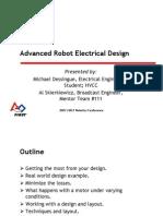 2007CON Wiring FRC Robot Dessingue Skierkiewicz