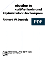 Richard W. Daniels-Introduction to Numerical Methods and Optimization Techniques-Elsevier Science Ltd (1978)
