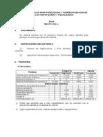 Normas Específicas Para Produccion y Comercializacion de Soja