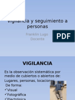 Vigilancia y Seguimiento de Personas