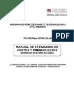 MANUAL Costos y Presupuestos METRADO (1)