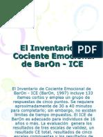 El Inventario de Cociente Emocional de BarOn -.ppt