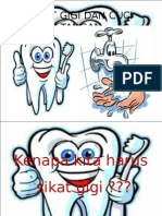 Penyuluhan Sikat Gigi Dan Cuci Tangan