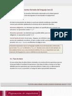 Lectura 3 - Elementos Formales Del Lenguaje Java I