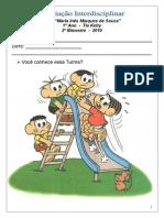 Avaliação Interdisciplinar (1ª  Parte - Português) 2º Bimestre 2010