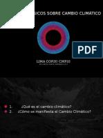 Conexioncop Conceptos Basicos Cambio Climatico Parte 1