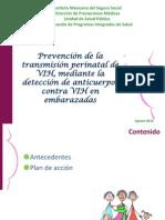 1.-Prevencion de La Trasmision Perinatal de VIH Mediante La Deteccion de Anticuerpos