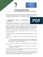 LINEAMIENTOS PARA LA PRESENTACIÓN DE PROYECTO TECNOLÓGICO - 2014.doc
