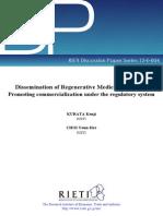 Regenerative Medicine in Japan