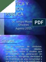 Cultura Política Montero