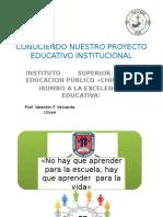 MANUAL DE DIFUSIÓN DEL PEI 2015.pptx
