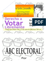 Derecho a Votar Libremente