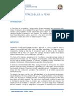 Bocatomas Construidas en El Perú Ingles