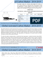 Activated Carbon Market to Reach $3.7 Billion by 2019-Ceskaa Market Research